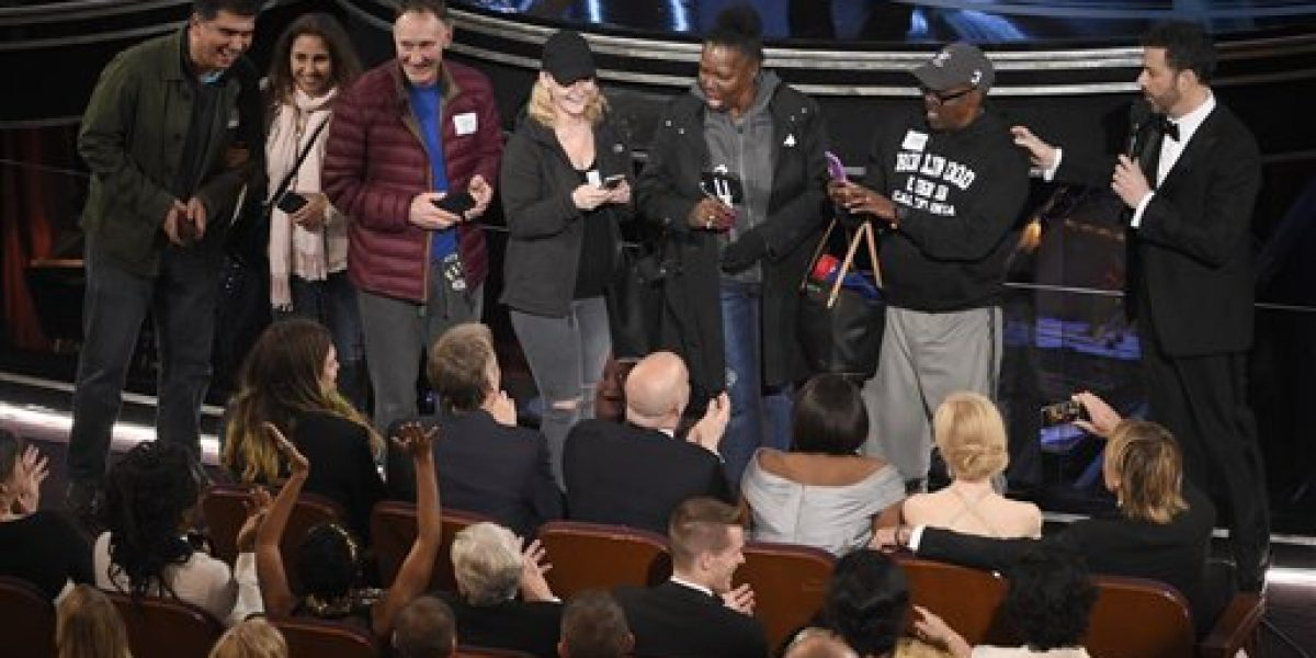 Caos histórico corona momentos notables del Oscar