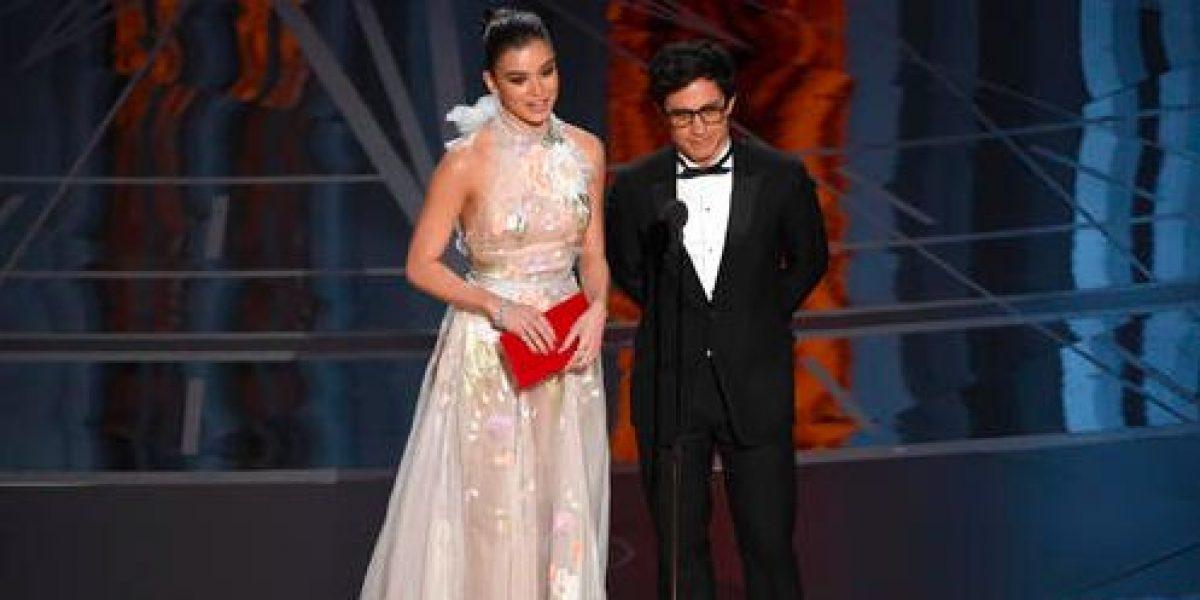 García Bernal se expresa contra el muro en los Oscar