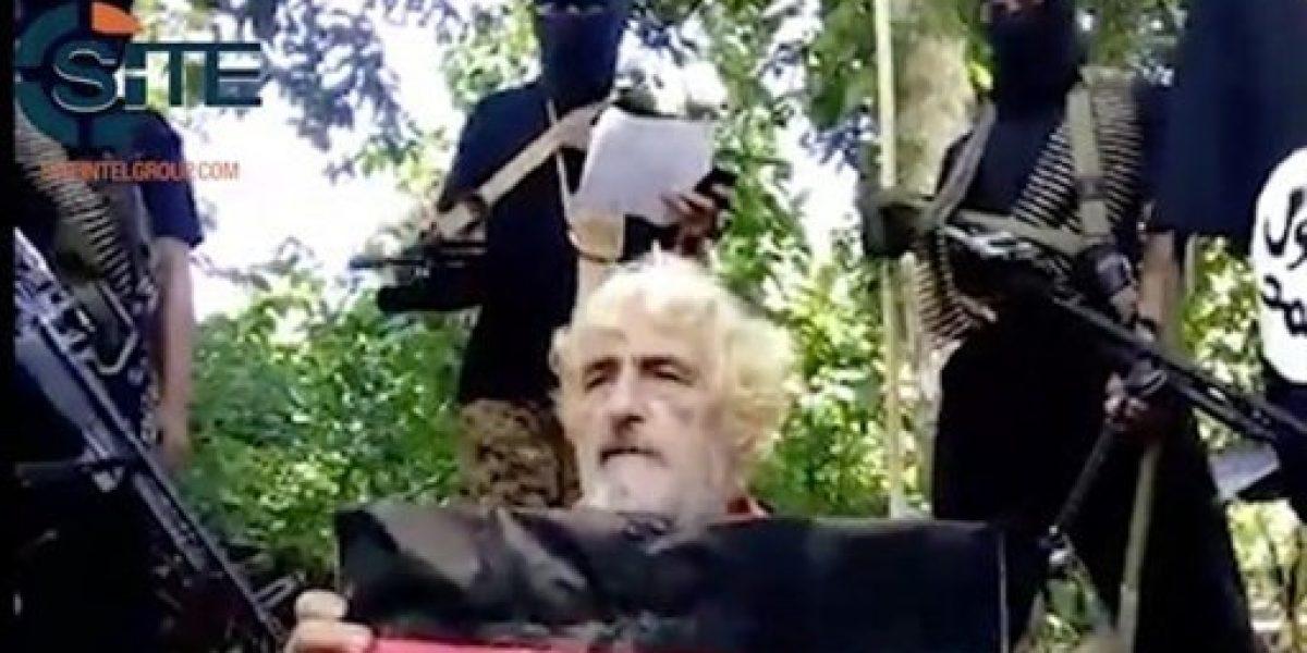 Grupo filipino difunde video de decapitación de rehén alemán