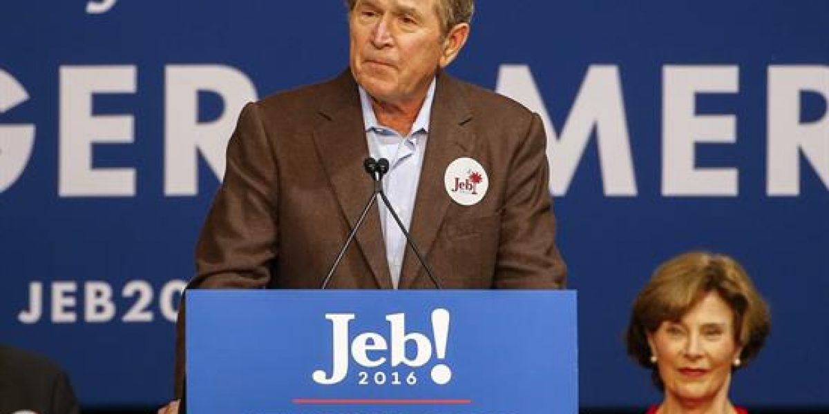George Bush lamenta auge del racismo en Estado Unidos