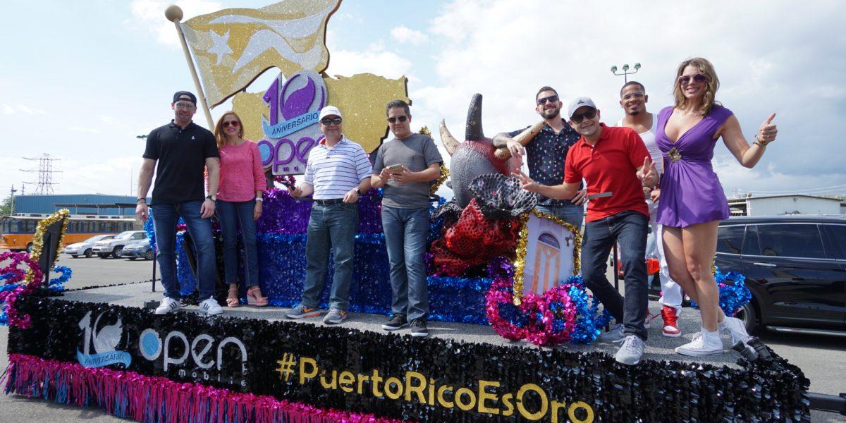 Open Mobile celebra su décimo aniversario en el Carnaval de Ponce