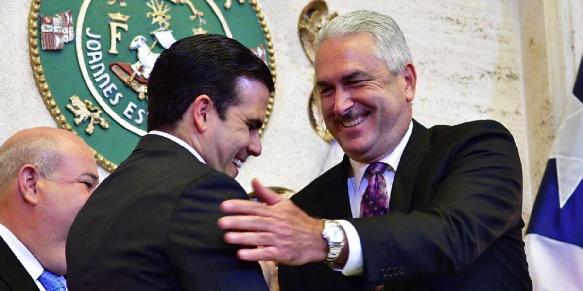 Presidentes legislativos respaldan el plan fiscal