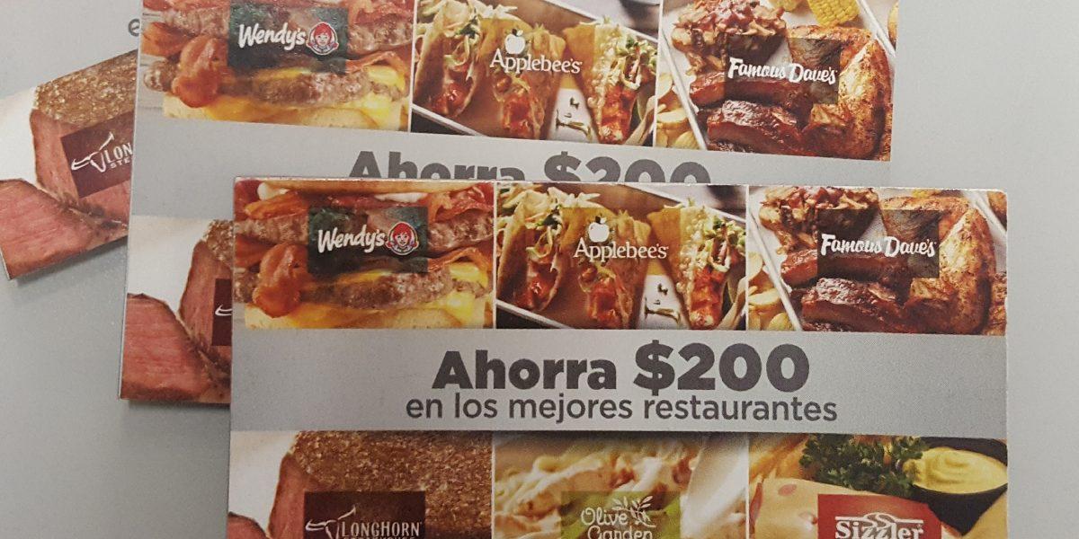 Lanzan libreta de cupones con más de $200