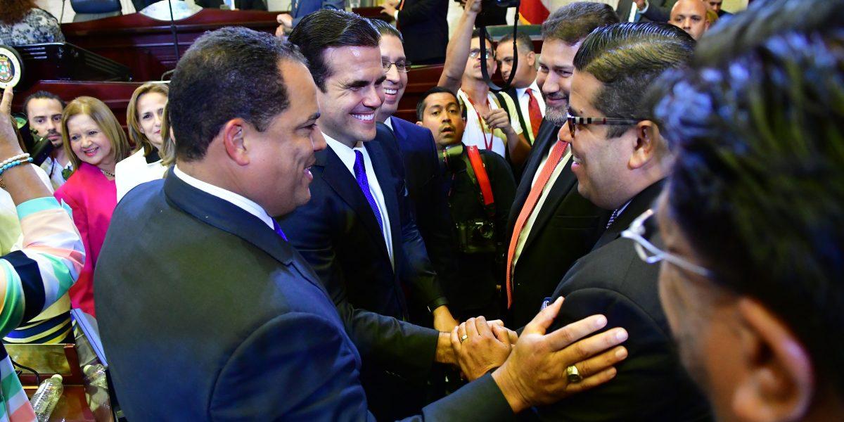 Portavoces de las minorías critican mensaje de Rosselló Nevares