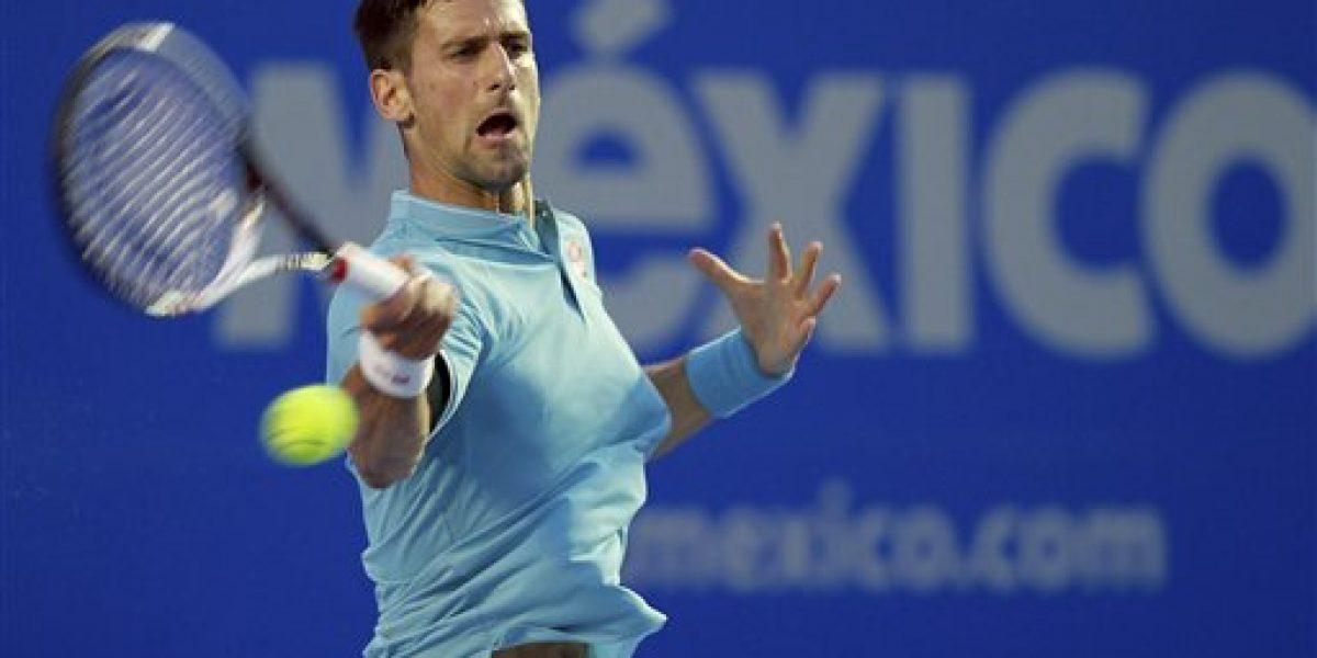 Djokovic reaparece con victoria en Acapulco