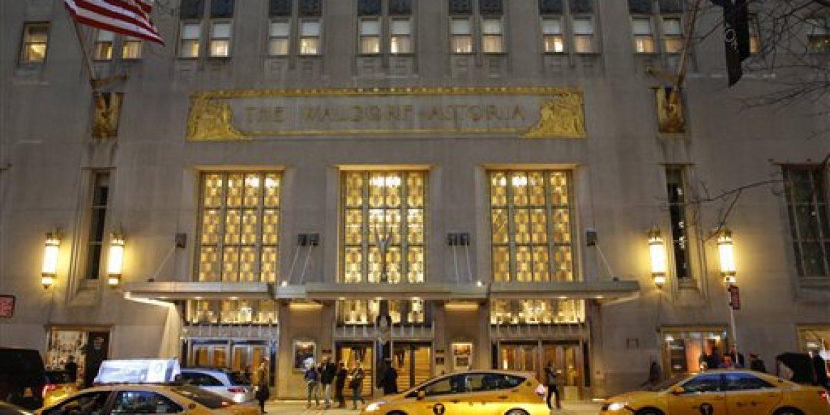 Inicia la transformación del Waldorf Astoria