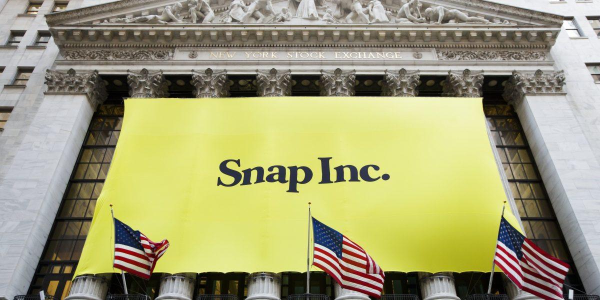 Snap empieza a cotizar en $24 y sube casi un 41 %