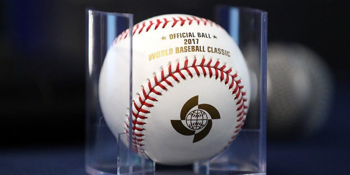 Presentan la pelota oficial del Clásico Mundial