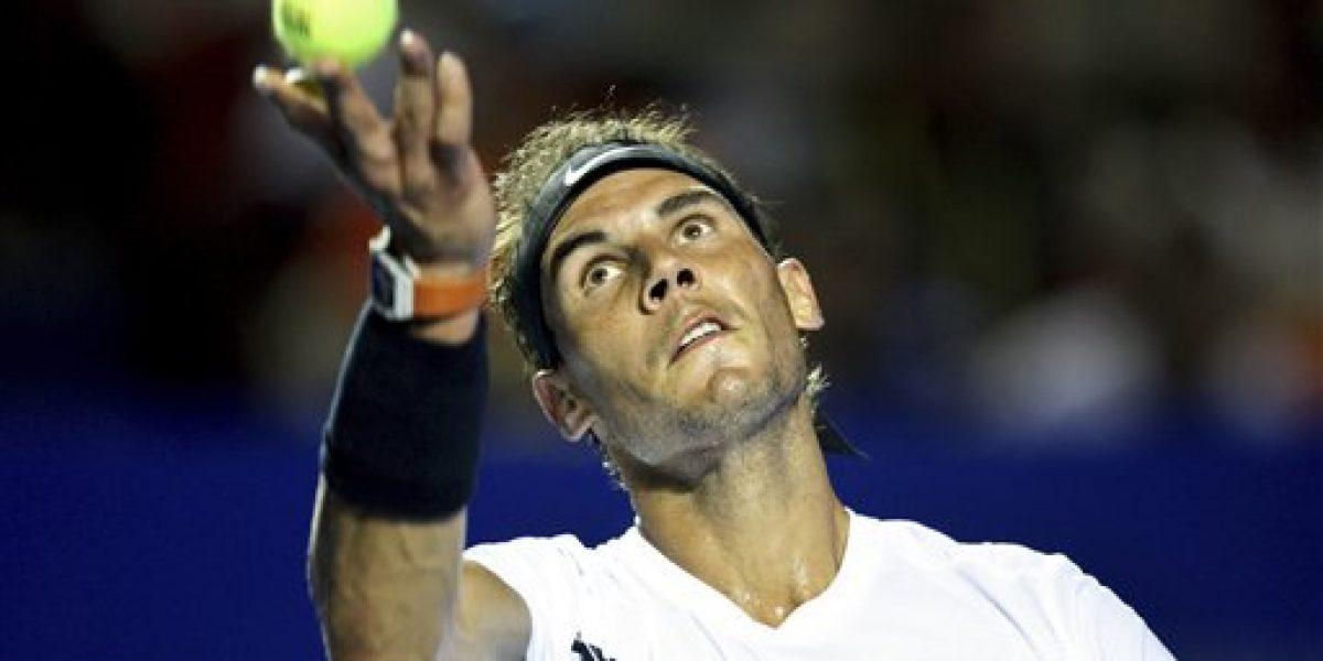 Djokovic, Nadal y Puig siguen en Acapulco