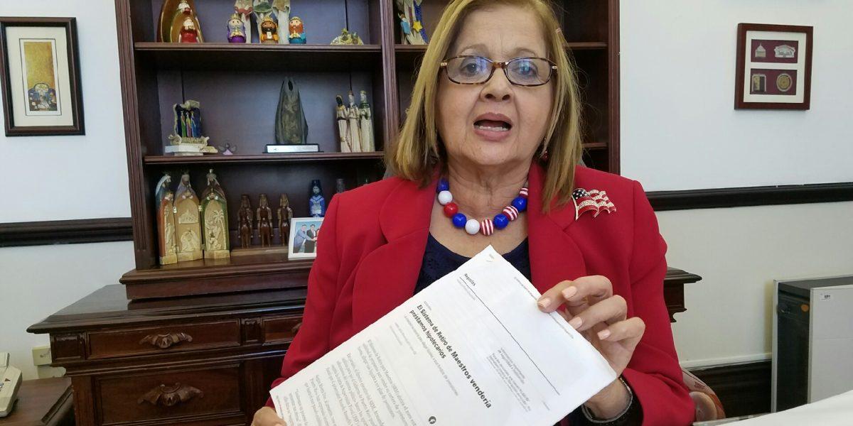 Senadora busca evaluación en detalle sobre situación del SRM
