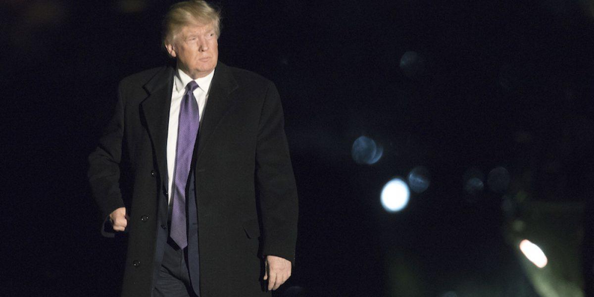 Trump ganó $150 millones y tributó $38 millones