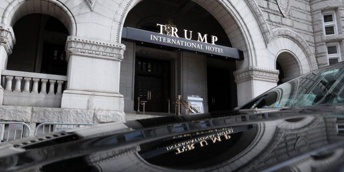 Hotel Trump sería la capital política en la capital de EEUU