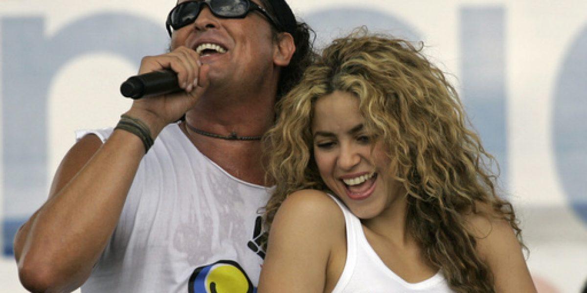 Shakira y Carlos Vives defienden originalidad de