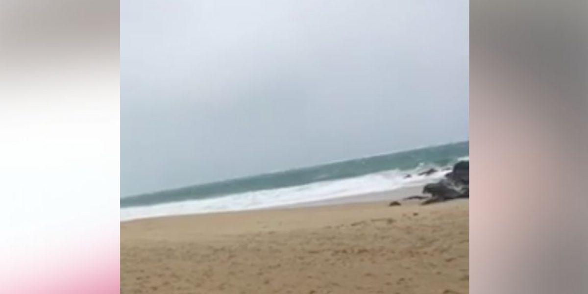 Surfers desafían condiciones del mar en Condado