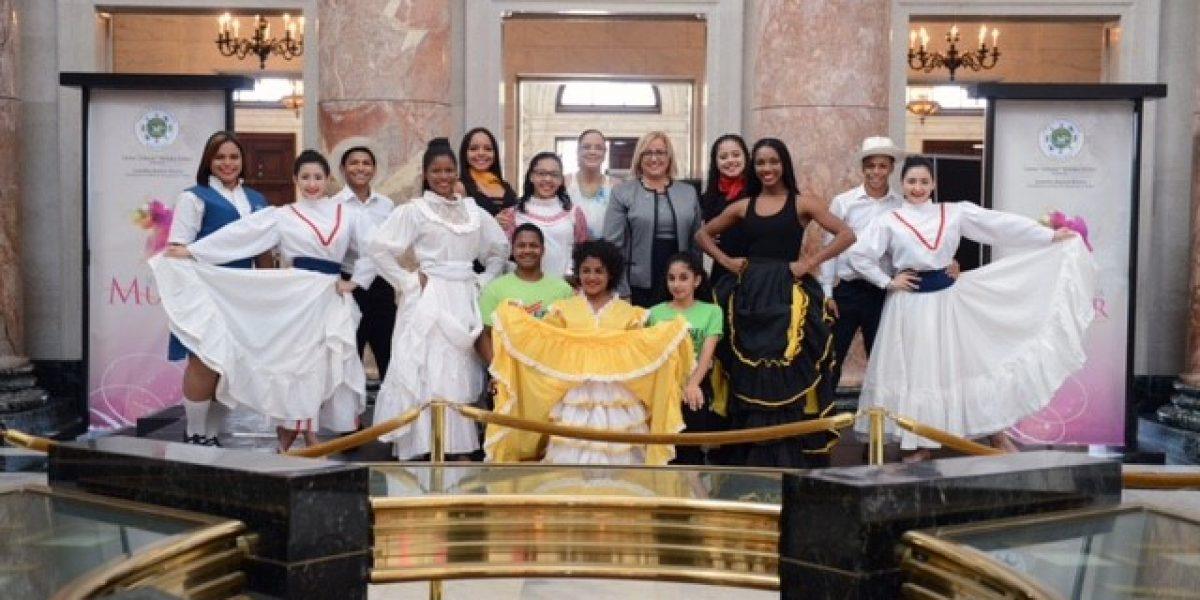 Cámara de Representantes celebra Semana de la Mujer enseñando Zumba