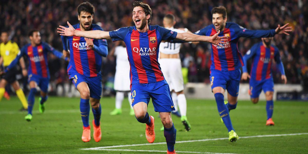 El Barcelona logra remonte histórico contra el PSG