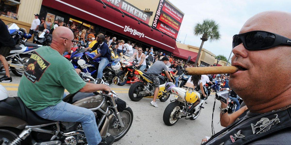 Florida, el estado donde más motociclistas mueren
