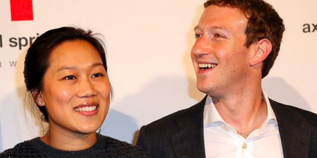 Mark Zuckergerg y su esposa esperan su segunda hija