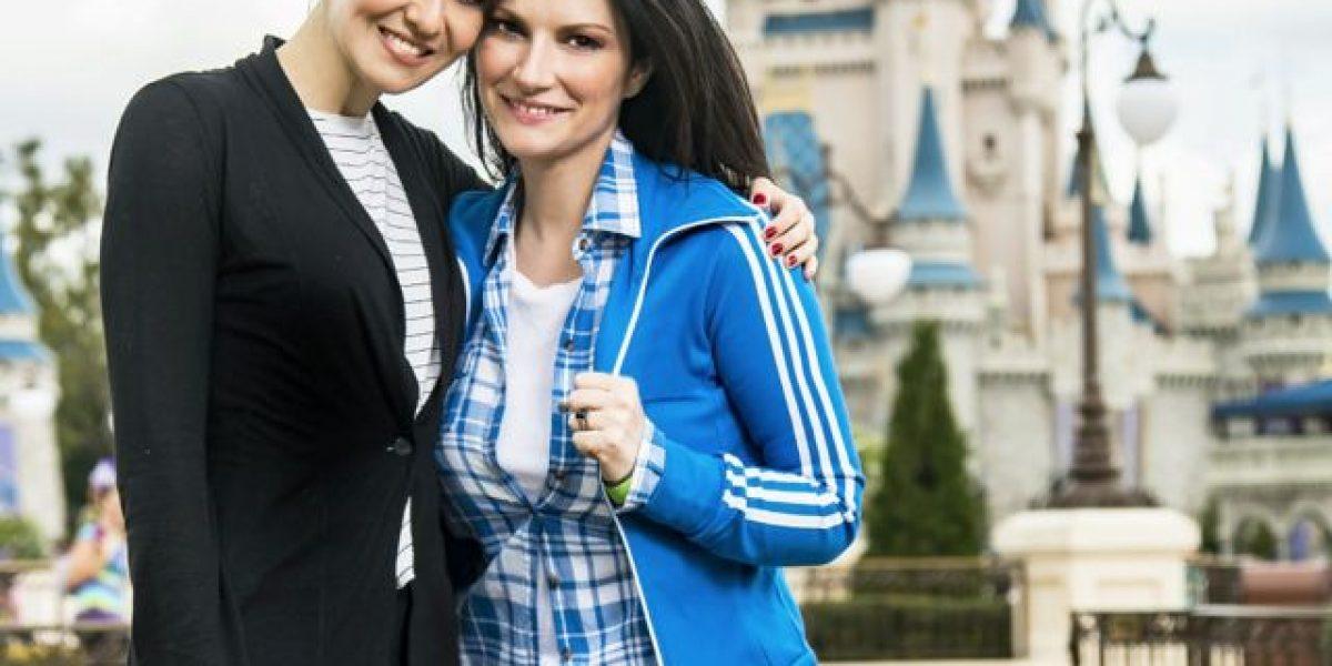 Laura Pausini llega a Disney con su mejor amiga