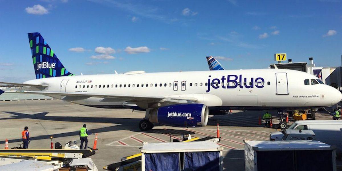 JetBlue presenta aeronave con diseño especial
