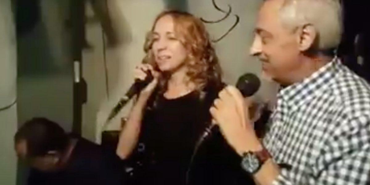 Alexandra Fuentes publica video cantando con Papo Brenes