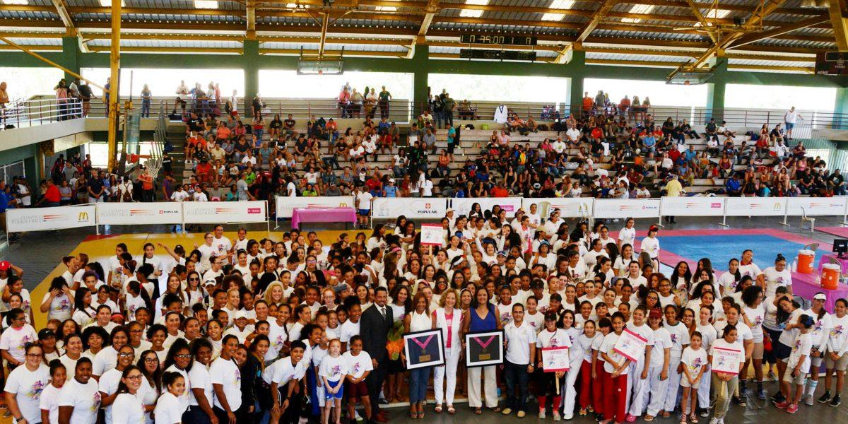 Inauguran cuarta edición del Festival Olímpico Femenino en Salinas