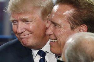 Schwarzenegger sobre Trump: Está enamorado de mí