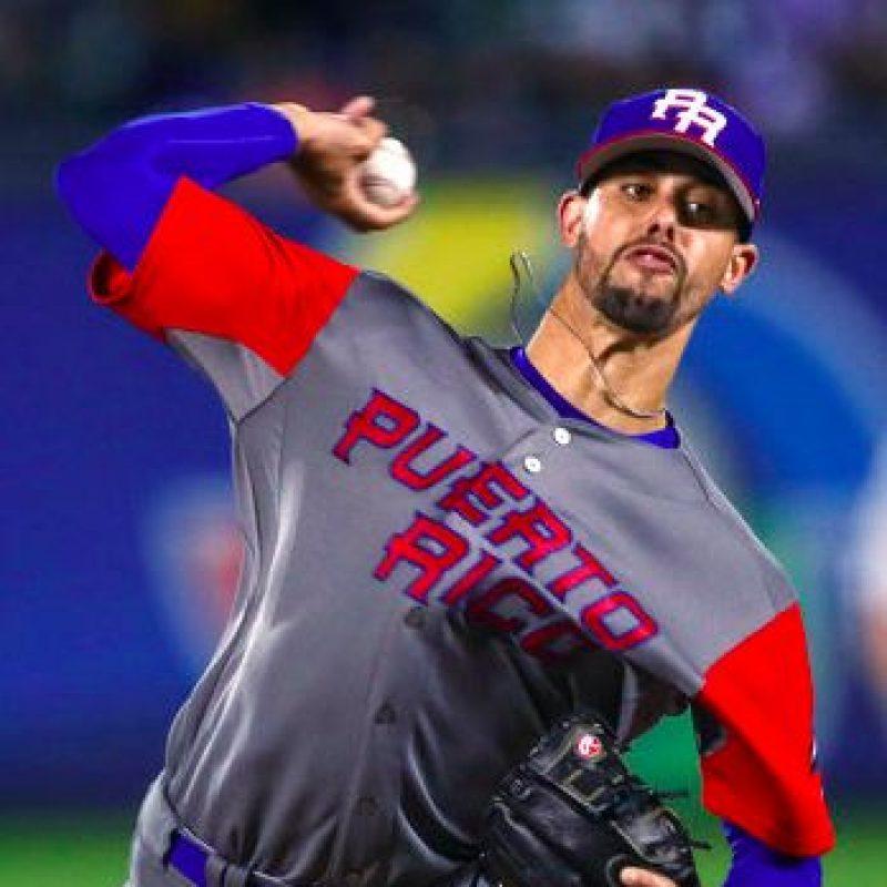 Puerto Rico ante México. / AP