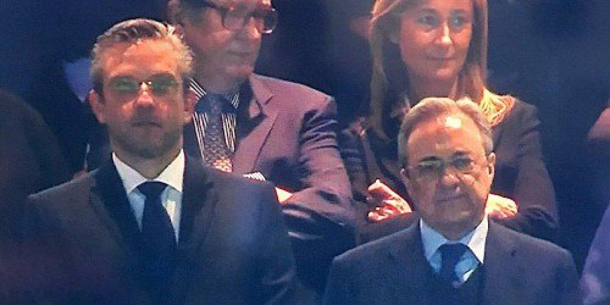Aparece García Padilla en medio de partido del Real Madrid