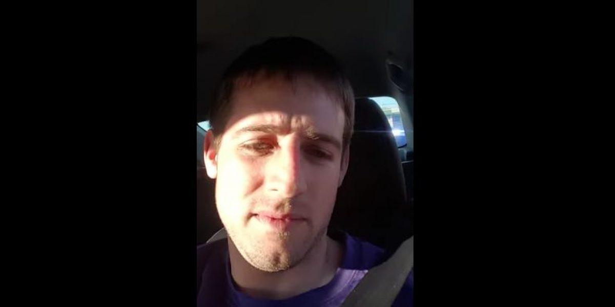 Chófer de Uber da lección a policías