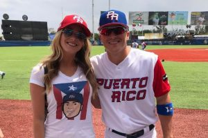 Ex Miss Puerto Rico profesa su amor a pelotero boricua