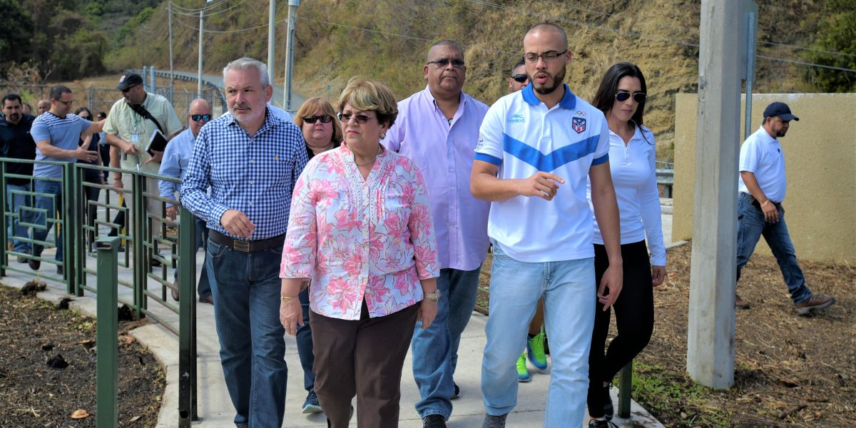 Secretario del DRD impulsa rehabilitación de Lago Cerrillo en Ponce