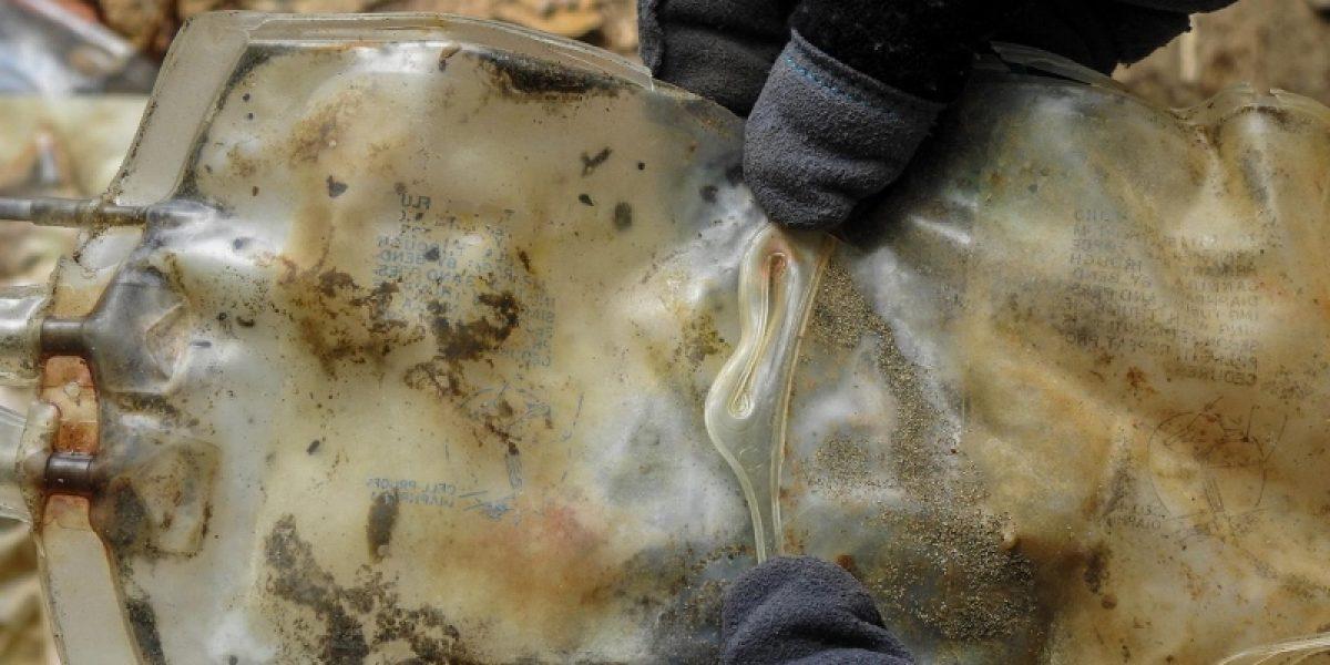 Investigarán sobre continuos hallazgos de desperdicios biomédicos