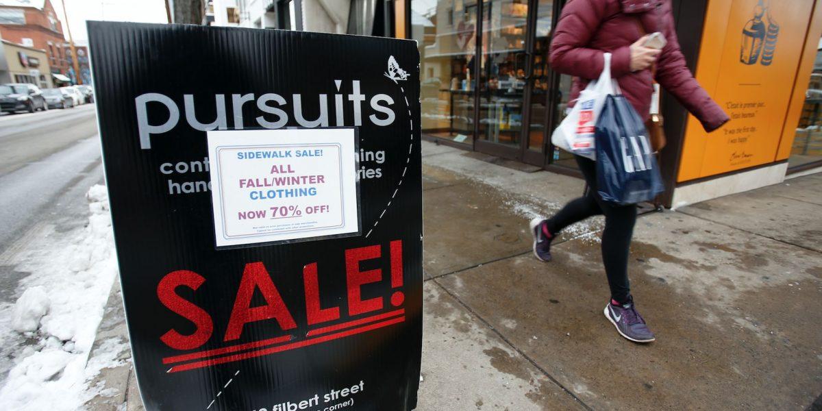 Leve aumento de precios al consumidor en EE.UU.