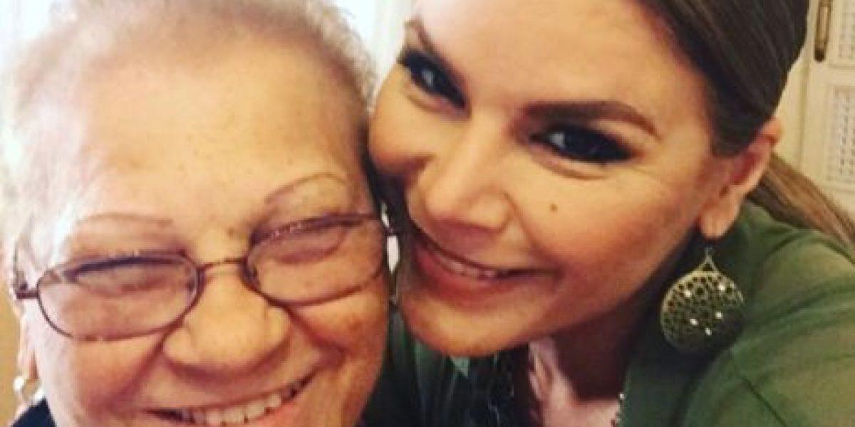 Olga Tañón confirma deceso de su madre