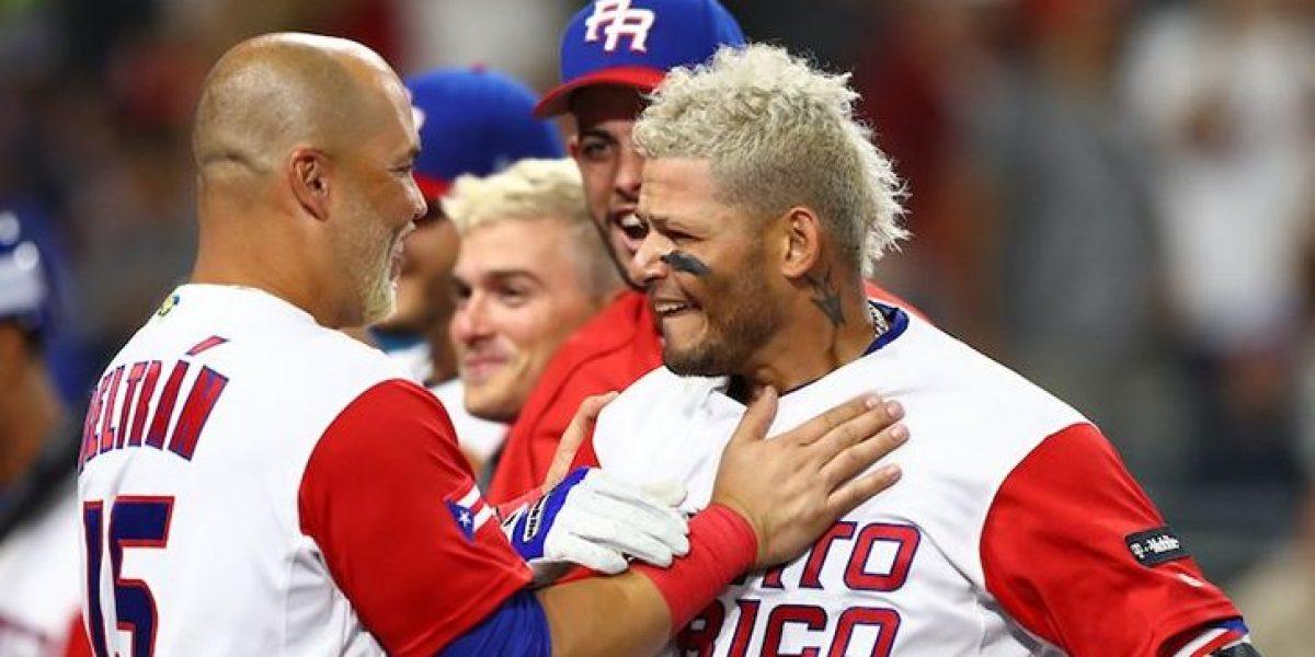 Viral celebración de Yadier Molina tras espectacular jugada