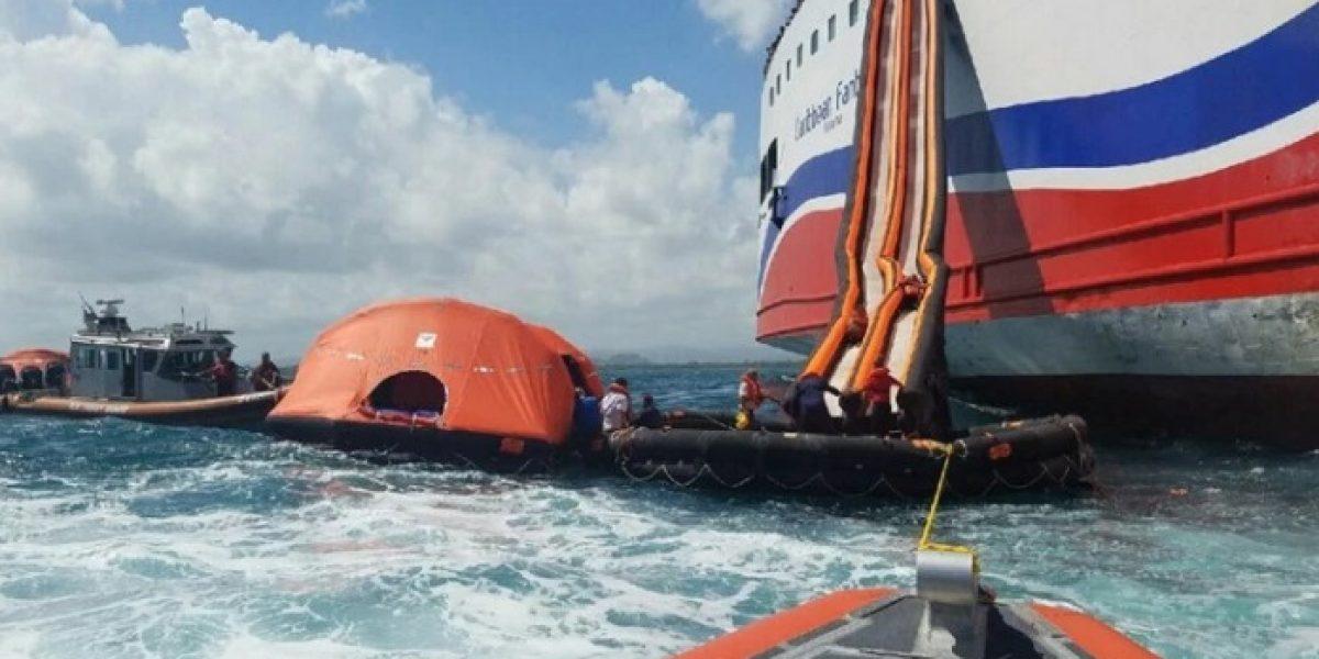 Comienzan vistas de investigación sobre siniestro en ferry Caribbean Fantasy