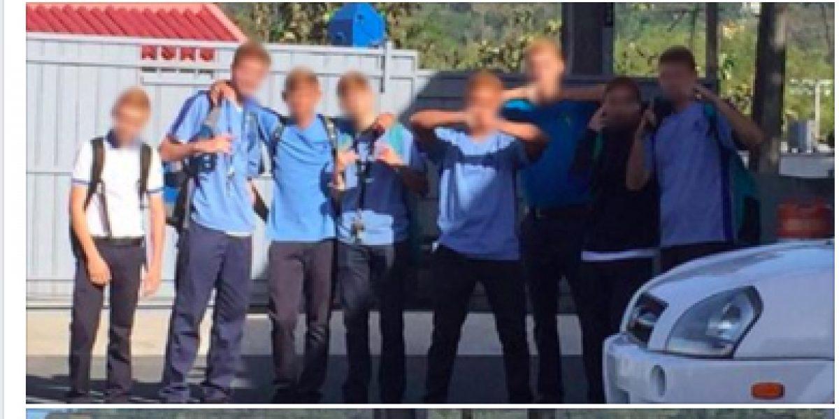 Suspenden a estudiantes de colegio por teñirse de rubios
