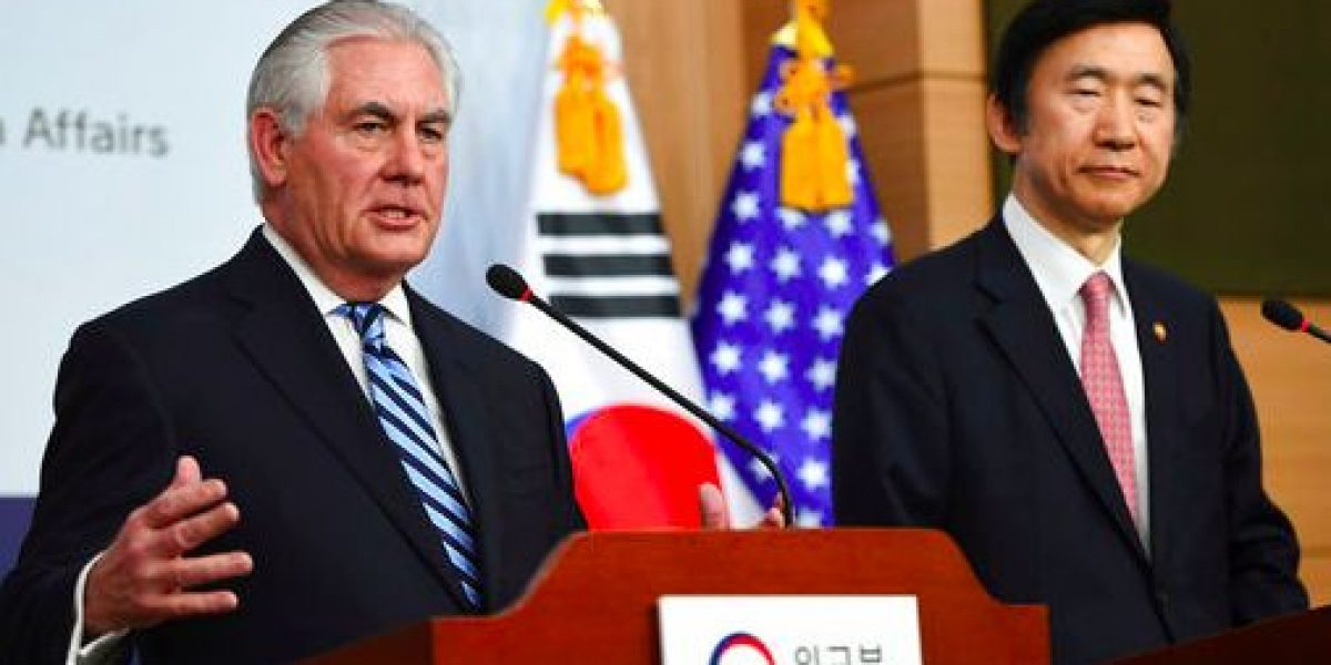 Estados Unidos no descarta respuesta militar contra Corea del Norte