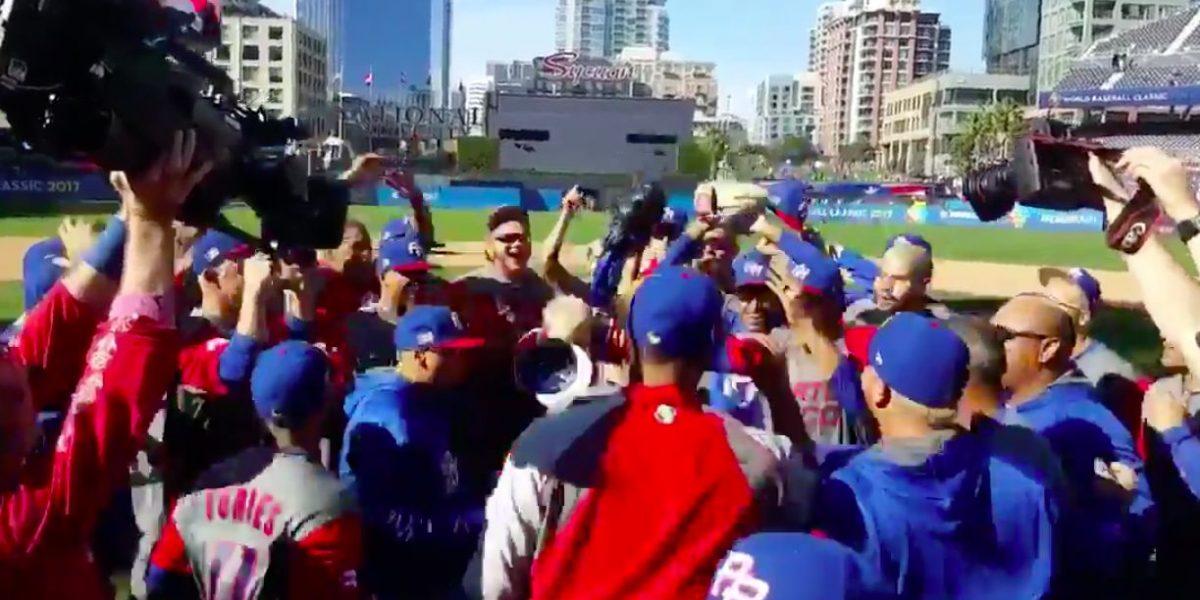 [Vídeo] Así celebraron los boricuas la victoria sobre Venezuela