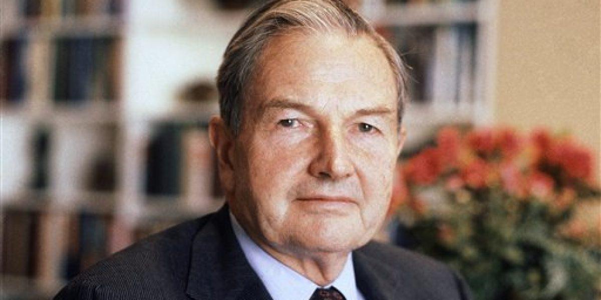 Muere David Rockefeller a los 101 años