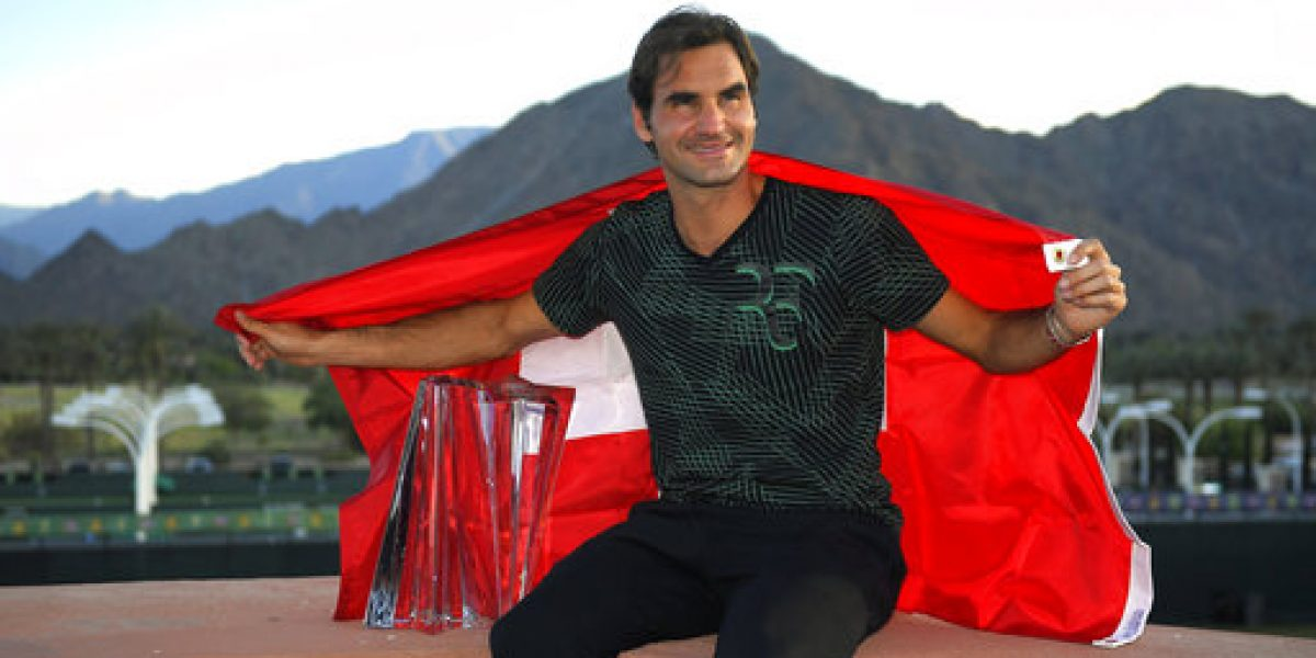 Federer intenta consolar a Wawrinka