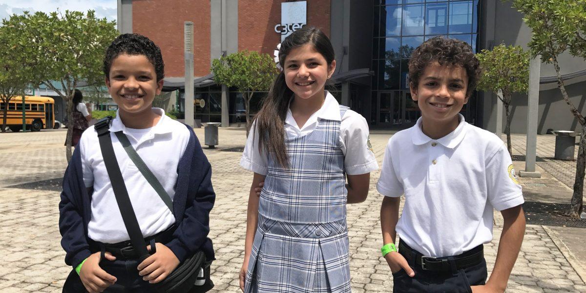 Niños se proyectan como futuros inventores en el C3Tec