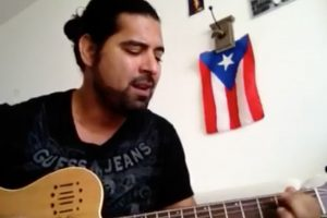 Cantautor boricua acepta reto en apoyo a #LosNuestros
