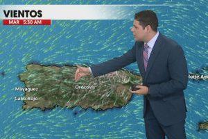 Condiciones del tiempo del lunes, 20 de marzo de 2017