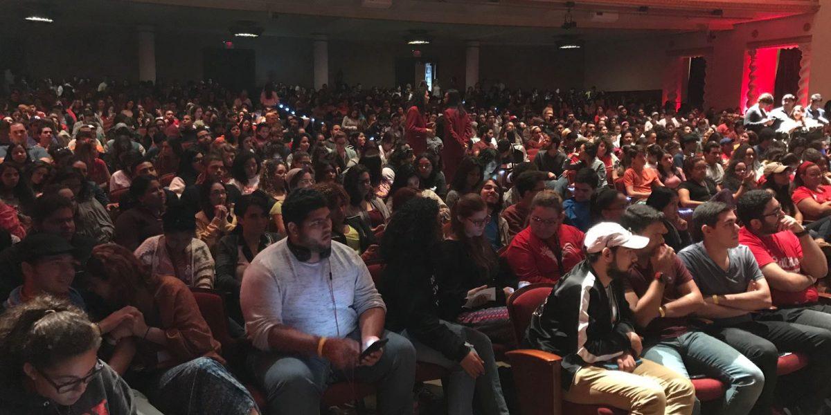 Rumbo a la Asamblea Nacional el Recinto de Río Piedras de la UPR