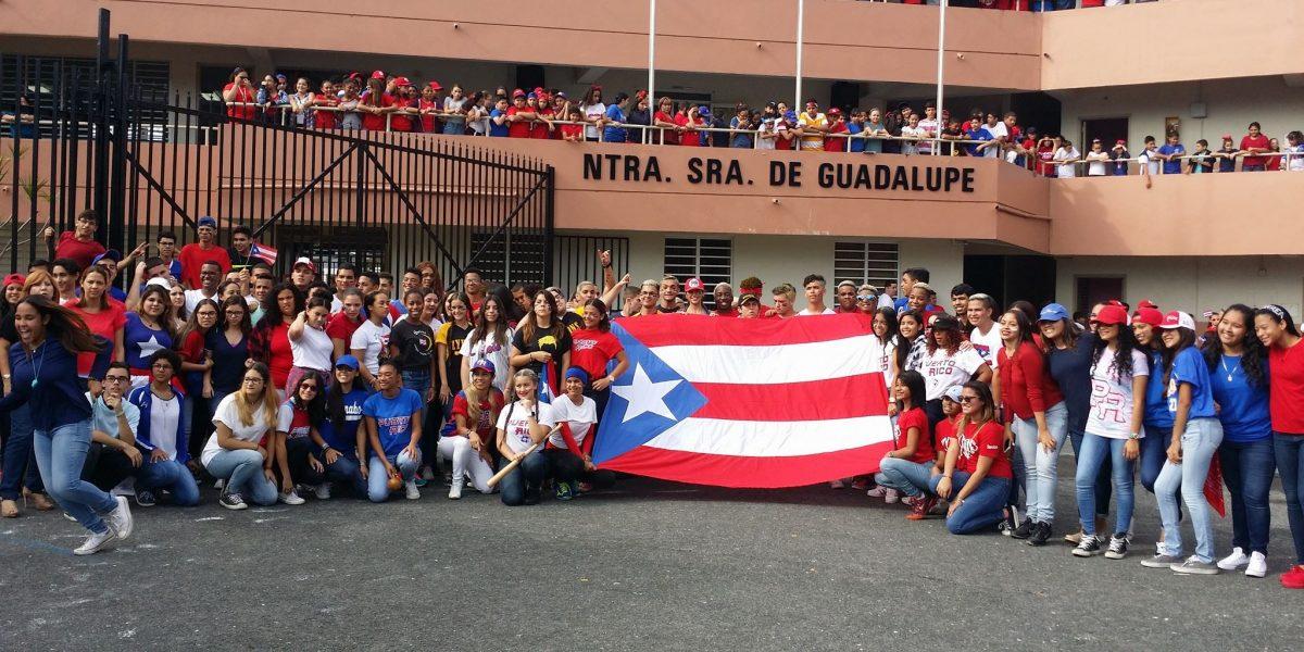 Colegio celebra en grande el pase a la final de Puerto Rico