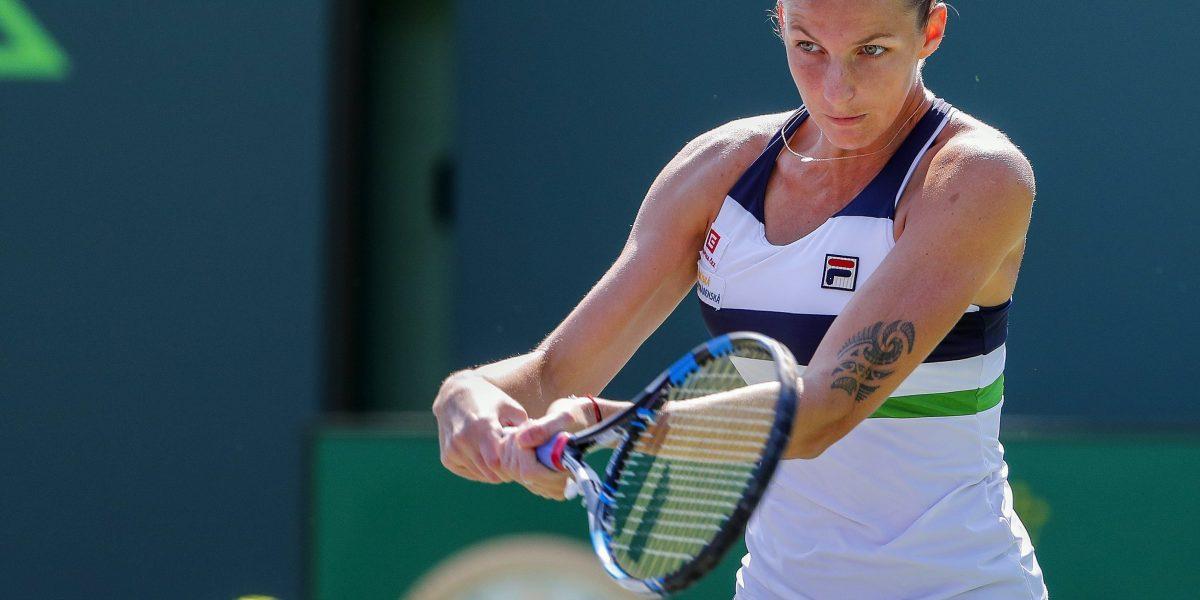 Pliskova avanza con facilidad a segunda ronda en Miami
