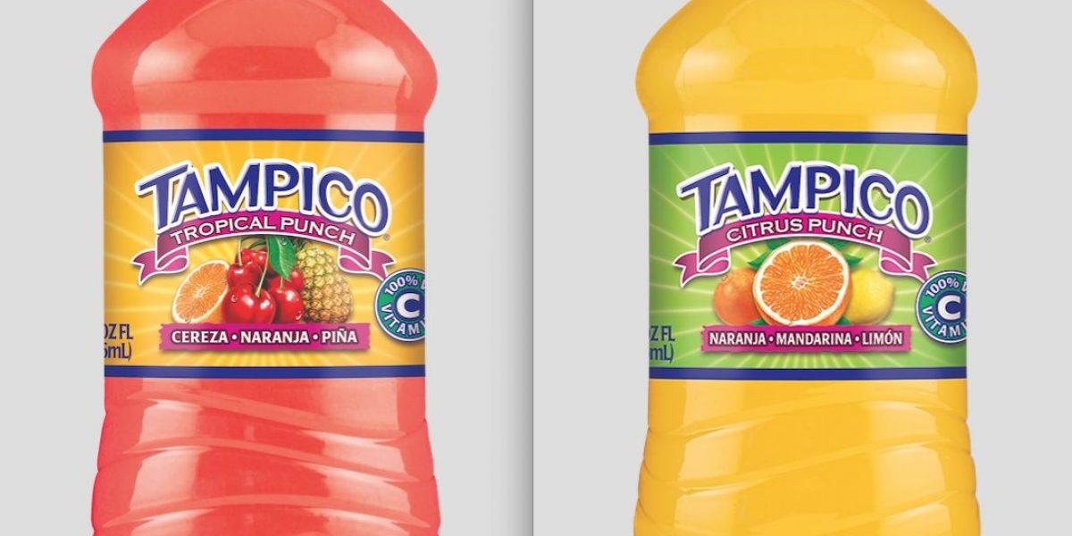 Jugos Tampico anuncia nueva botella