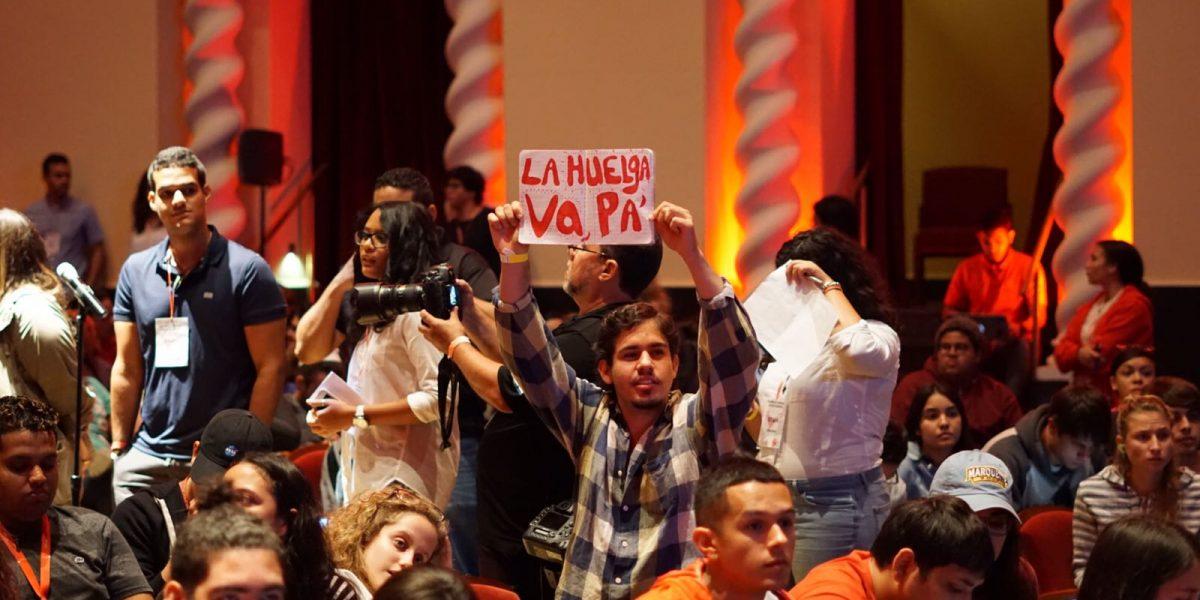 Consejo General de Estudiantes de Río Piedras condena política de confrontación